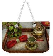 Kettle - Formal Tea Ceremony Weekender Tote Bag