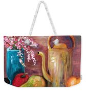 Kettle And Fruit Weekender Tote Bag