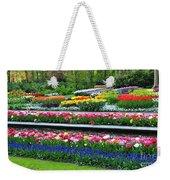 Keukenhof Tulips Ornamental Garden  Weekender Tote Bag