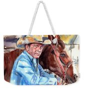 Kevin Costner Portrait Weekender Tote Bag