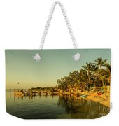 Key Largo Gold  Weekender Tote Bag