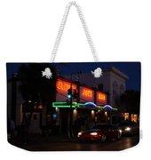 Key West By Night Weekender Tote Bag