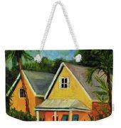 Key West Cottage Weekender Tote Bag