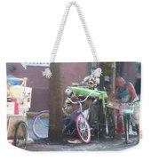 Key West Duval Street Conversation Weekender Tote Bag