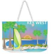 Key West Horizontal Scene Weekender Tote Bag