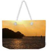 Key West Mangrove Sunrise Weekender Tote Bag