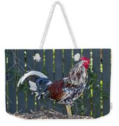 Key West Rooster 2 Weekender Tote Bag