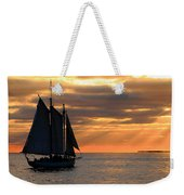 Key West Sunset Sail 6 Weekender Tote Bag