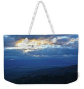 Keys View Sunset Landscape Weekender Tote Bag