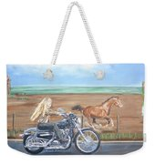 Kick It Out A Tribute To Heart Weekender Tote Bag