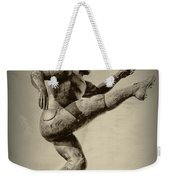Kick Off Weekender Tote Bag