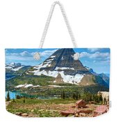 Kid And The Bear In Widescape Weekender Tote Bag