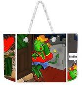 Kid Monsta Triptych 5 Weekender Tote Bag