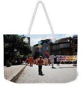 Kid On Parade Weekender Tote Bag