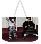 Kids And Religion Weekender Tote Bag