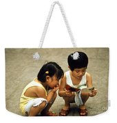Kids In China 1986 Weekender Tote Bag