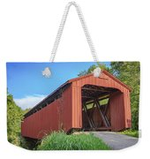Kidwell Covered Bridge Weekender Tote Bag