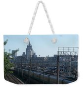 Moscow Kievskaya Train Yard Weekender Tote Bag