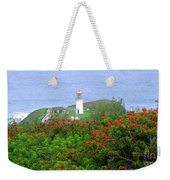 Kilauea Lighthouse Kauai Hawaii Weekender Tote Bag