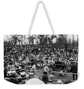 Kilrain Vs Sullivan Weekender Tote Bag
