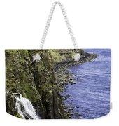Kilt Rock On The Isle Of Skye Weekender Tote Bag