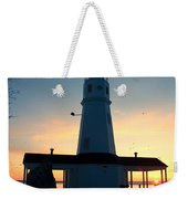 Kimberly Pointe Lighthouse Weekender Tote Bag