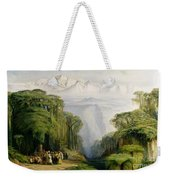Kinchinjunga From Darjeeling Weekender Tote Bag