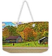 Kindred Barns Painted Weekender Tote Bag by Steve Harrington