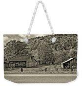 Kindred Barns Sepia Weekender Tote Bag
