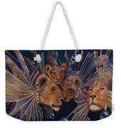 Kindred Lionfish Weekender Tote Bag
