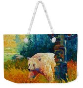 Kindred Spirits - Kermode Spirit Bear Weekender Tote Bag