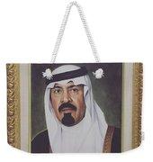 King Abdullah Weekender Tote Bag