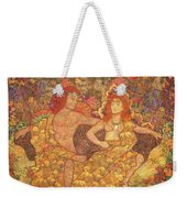 King And Queen Of The Fall Weekender Tote Bag