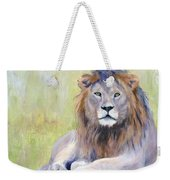 King At Rest Weekender Tote Bag