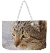 King Cat Weekender Tote Bag