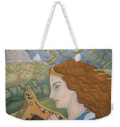 King David In His Youth Weekender Tote Bag