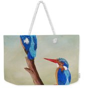 King Fishers Weekender Tote Bag
