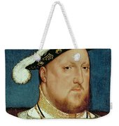 King Henry Viii Weekender Tote Bag by Hans Holbein the Younger