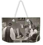 King James II Of England Facing Bishops Weekender Tote Bag