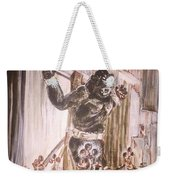 King Kong - Flashbulbs Anger Kong Weekender Tote Bag