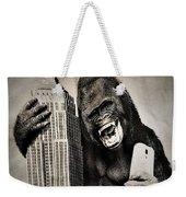 King Kong Selfie Weekender Tote Bag