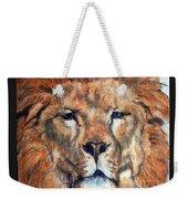 King Lion Weekender Tote Bag