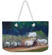 King Of Green Hill Farm Weekender Tote Bag by Donna Tuten