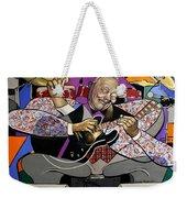 King Of The Blues Weekender Tote Bag