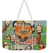 King Of The Grill Weekender Tote Bag