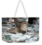 King Of The Jungle Weekender Tote Bag