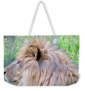 King Of The Jungle Profile  Weekender Tote Bag
