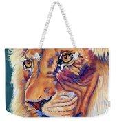 King Of The Lions Weekender Tote Bag