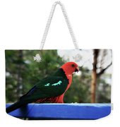 King Of The Parrots Weekender Tote Bag
