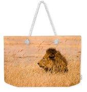 King Of The Pride Weekender Tote Bag